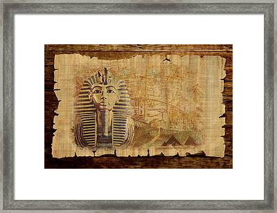 Ancient Egypt Civilization 02 Framed Print by Catf