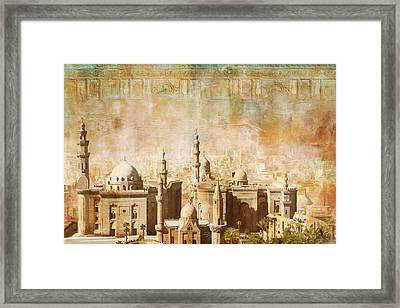 Ancient Egypt Civilization Detail 04 Framed Print by Catf