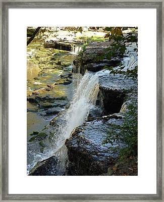 Ancient Erosion Framed Print by Ron Hayes