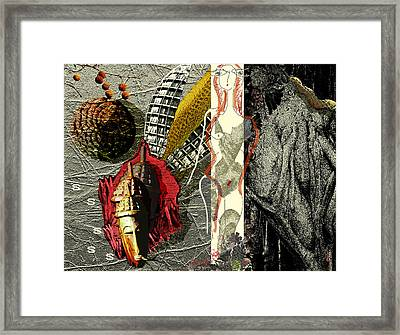 Ancient History Framed Print by Maria Jesus Hernandez