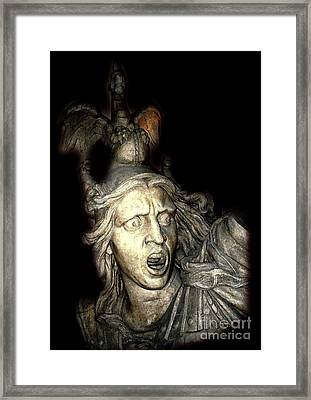 Ancient Soldier Framed Print by Patricia Januszkiewicz