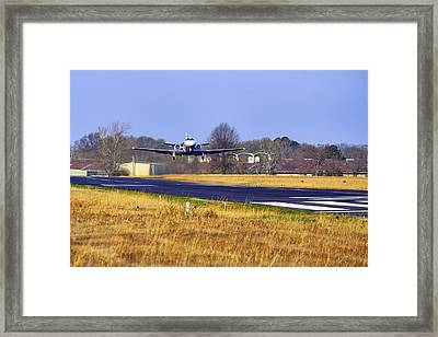 And Away We Go Framed Print by Jason Politte