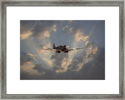 And Comes Safe Home Framed Print by Pat Speirs