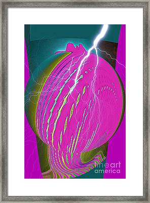 And He Called It Earth Framed Print by Luther   Fine Art