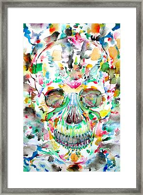 And Joining At Last Its Mighty Origin Framed Print by Fabrizio Cassetta