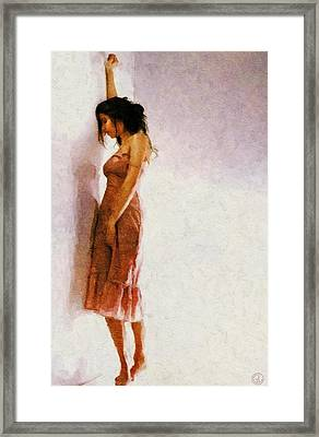 And Now What... Framed Print by Gun Legler