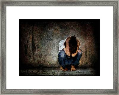 And Now...what Next? Framed Print by Gun Legler