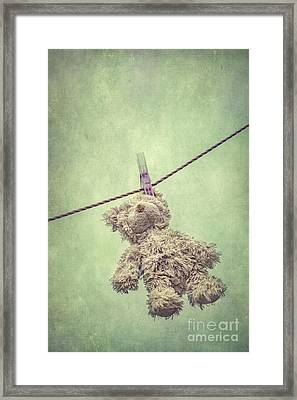 And Then The Childhood Was Left Behind Framed Print by Evelina Kremsdorf