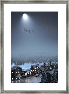 And To All A Good Night Framed Print by Hangar B Productions
