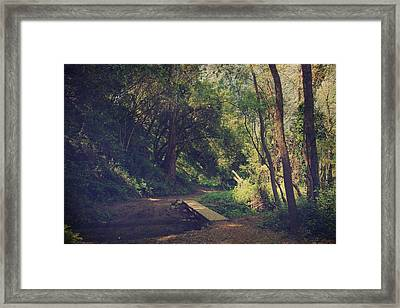 And Yet So Far Framed Print by Laurie Search