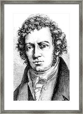 Andre-marie Ampere Framed Print by Collection Abecasis