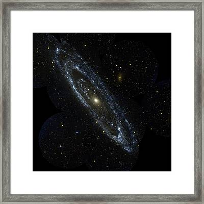Andromeda Galaxy Framed Print by Celestial Images