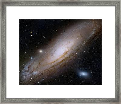 Andromeda Galaxy Framed Print by Robert Gendler