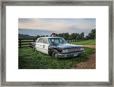 Andy's Car Framed Print by EG Kight