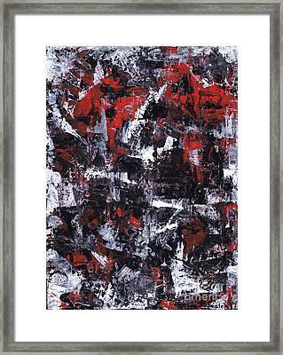 Aneurysm 1 - Middle Framed Print by Kamil Swiatek