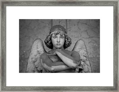Angel  Framed Print by A Rey