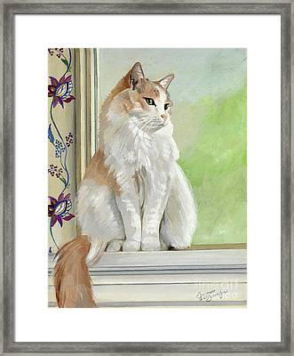 Angel Daydreams Framed Print by Suzanne Schaefer