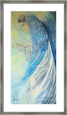 Angel Divine Framed Print by Caroline Street