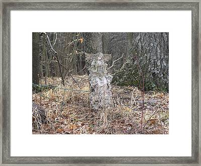 Angel In The Woods Framed Print by Marisa Horn