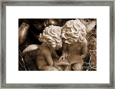 Angel Laughter Framed Print by Susanne Van Hulst