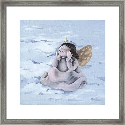 Angel Framed Print by Natasha Denger