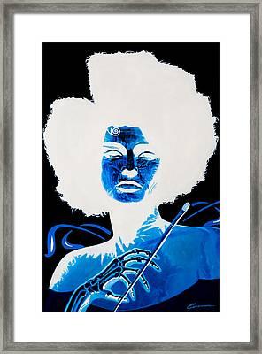 Angel Of Art Framed Print by Joe Ciccarone