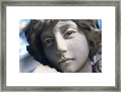 Angel Of Avalon Framed Print by Gustave Kurz