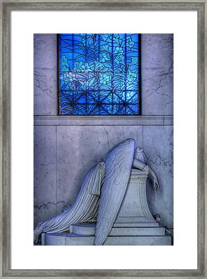 Angel Of Grief New Orleans 1 Framed Print by Gregory Cox