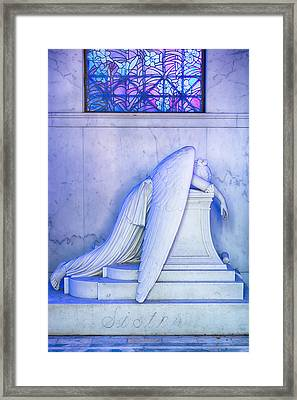 Angel Of Grief New Orleans 2 Framed Print by Gregory Cox