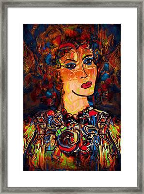 Angel Of Hope Framed Print by Natalie Holland