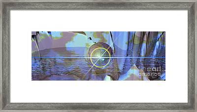 Angel Of The Water Framed Print by Luke Galutia