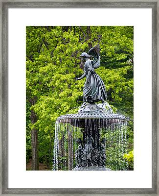 Angel Of The Waters Framed Print by Cornelis Verwaal