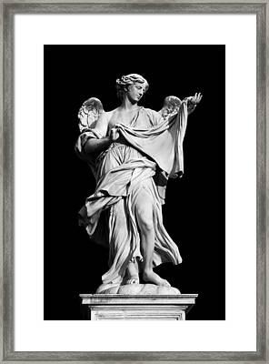 Angel With The Sudarium  Framed Print by Fabrizio Troiani