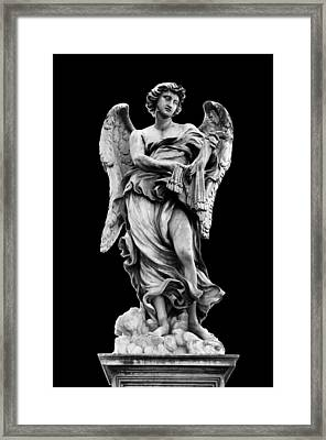 Angel With The Whips  Framed Print by Fabrizio Troiani