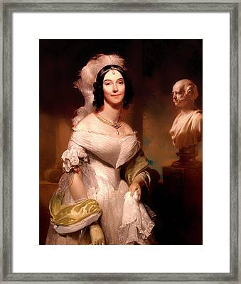 Angelica Van Buren Framed Print by Mountain Dreams
