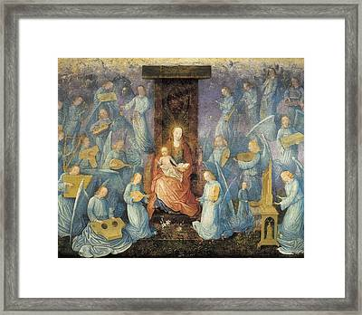 Angelical Concert. 15th-16th C. Flemish Framed Print by Everett