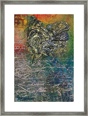 Angels And Mermaids Framed Print by Cindy Johnston