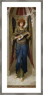 Angels Framed Print by John Melhuish Strudwick