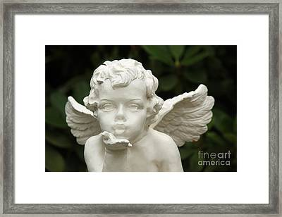 Angels Kiss Framed Print by Four Hands Art