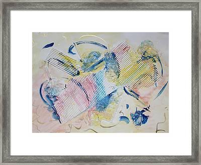 Angels Lingering Framed Print by Asha Carolyn Young