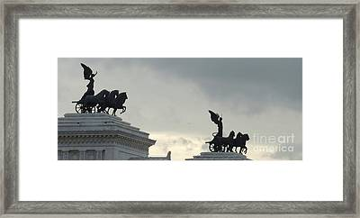 Angels Up High Framed Print by Paul Smith