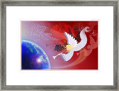 Angelus Framed Print by Nato  Gomes