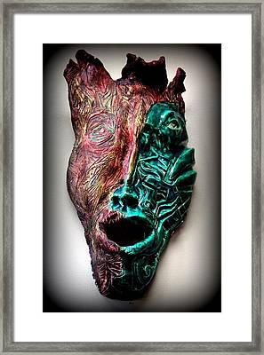 Angeni- Spirit Framed Print by Wynter Peguero