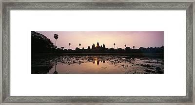 Angkor Vat Cambodia Framed Print by Panoramic Images