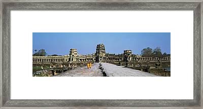 Angkor Wat Cambodia Framed Print by Panoramic Images