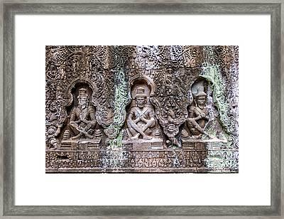 Angkor Wat Framed Print by Stelios Kleanthous