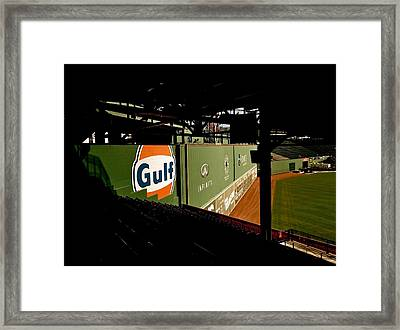 Angles Fenway Park  Framed Print by Iconic Images Art Gallery David Pucciarelli