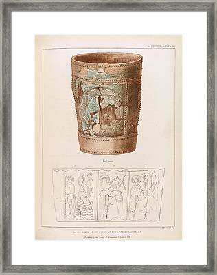 Anglo-saxon Stoup Framed Print by Middle Temple Library