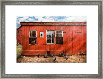 Animal - Bird - Bird Watching Framed Print by Mike Savad