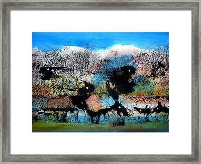 Animal World 121005-3 Framed Print by Aquira Kusume